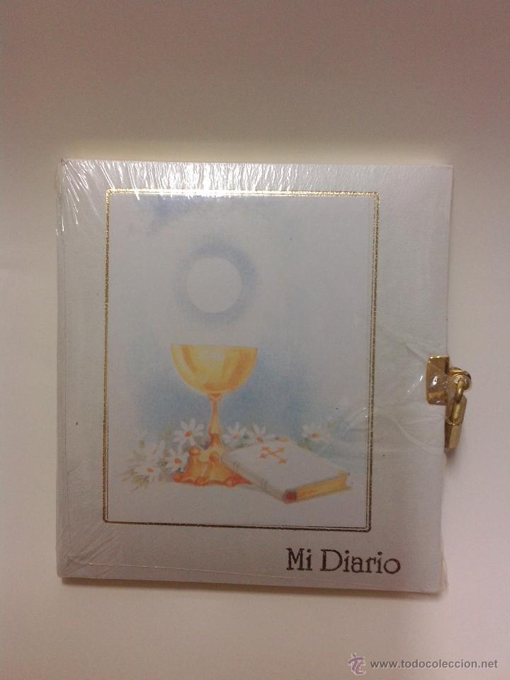 DIARIO - MI PRIMERA COMUNION - AÑOS 80 - NUEVO (Vintage - Varios)