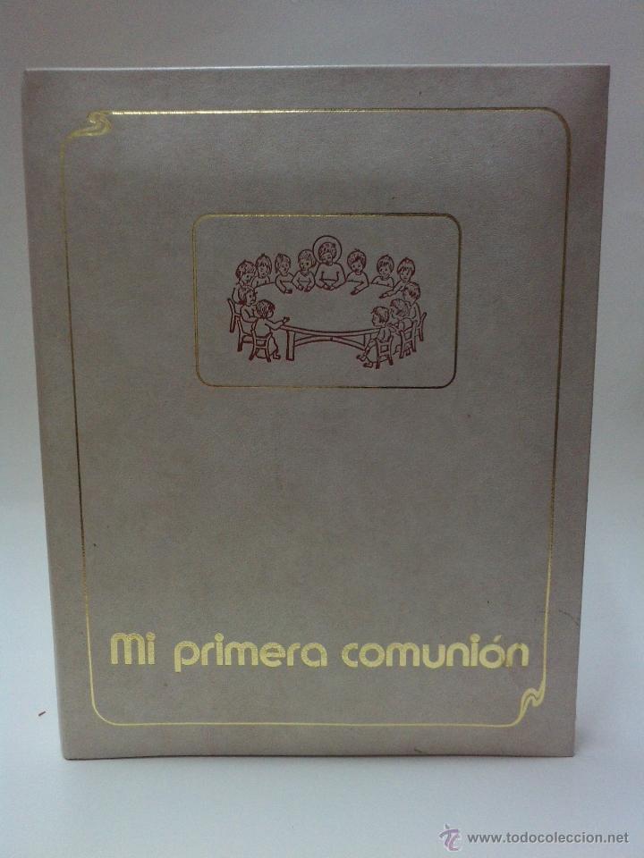 ALBUN FOTOS CON MUSICA - PRIMERA COMUNION - AÑOS 80 - NUEVO (Vintage - Varios)