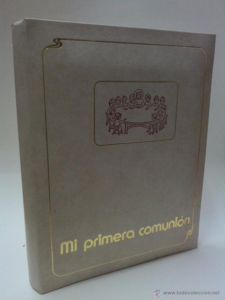 Vintage: ALBUN FOTOS CON MUSICA - PRIMERA COMUNION - AÑOS 80 - NUEVO - Foto 5 - 54225437