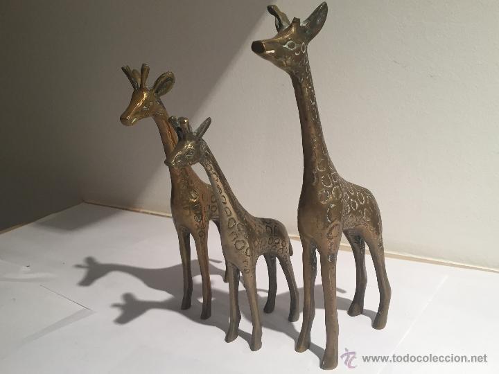 Figuras Decoracion Familia Jirafas Comprar En Todocoleccion 54519446