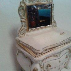 Vintage: JOYERO EN CERAMICA. VINTAGE. Lote 54630593