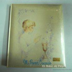 Vintage: ÁLBUM MI PRIMERA COMUNIÓN, NUEVO, AÑOS 80. MANUART. Lote 54714355
