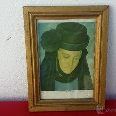 Vintage: CUADRO LAMINA. Lote 54807326