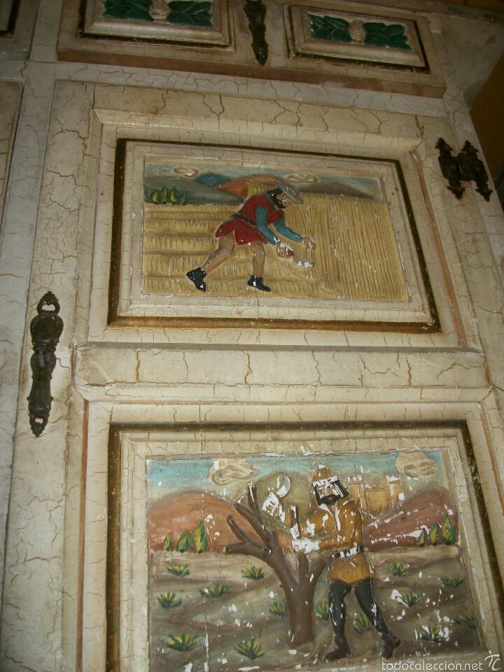 Vintage: Mueble tallado madera - Foto 2 - 54814316
