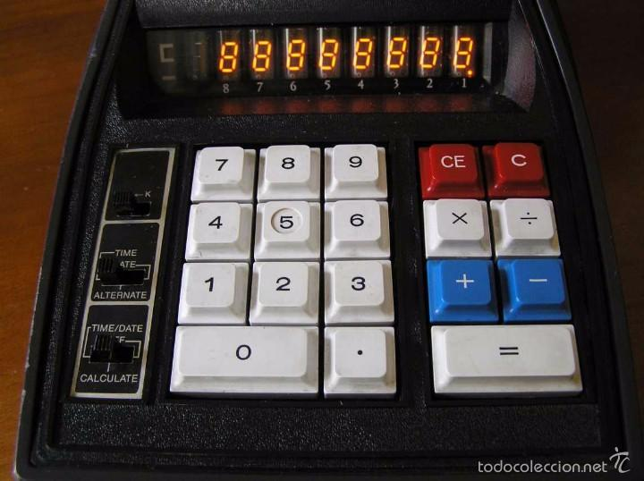 Vintage: ANTIGUA CALCULADORA PARSUG 101 - LEDS COLOR NARANJA AÑOS 70 DESKTOP CALCULATOR - - Foto 6 - 55176379