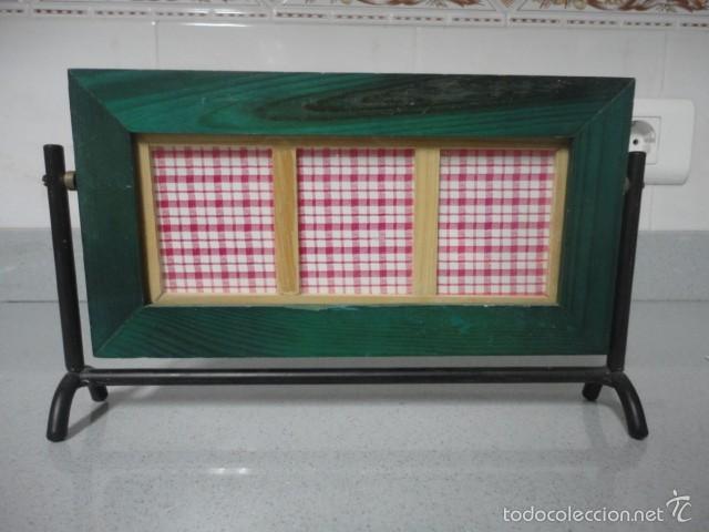 marco de madera para 3 fotos de 5,5 x 6,5 - Comprar en todocoleccion ...