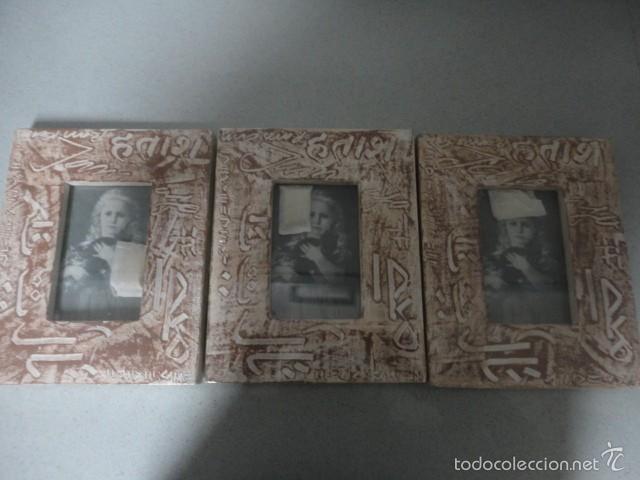 3 marcos - marco portafoto madera foto 10 x 15 - Comprar en ...