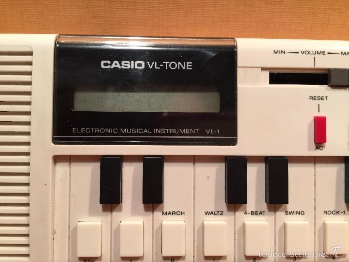 Vintage: TECLADO ELECTRONICO CASIO VL-TONE VL1 EN PERFECTO ESTADO. CON INSTRUCCIONES Y FUNDA - Foto 3 - 55324069