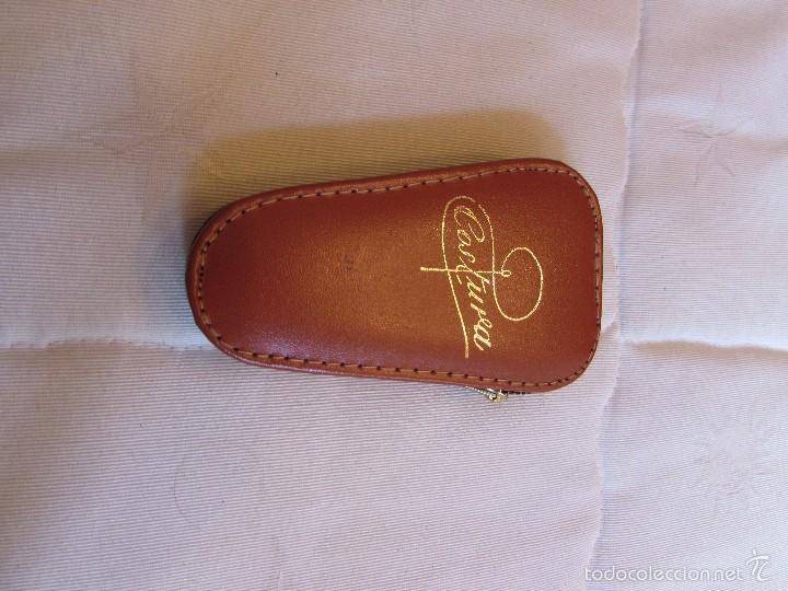 Vintage: Antiguo y completo estuche kit - set de costura de viaje en piel - Foto 5 - 55778554