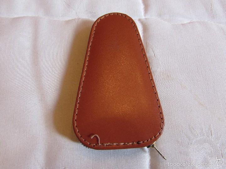 Vintage: Antiguo y completo estuche kit - set de costura de viaje en piel - Foto 6 - 55778554