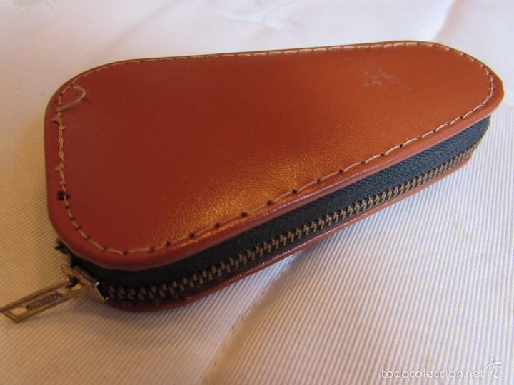 Vintage: Antiguo y completo estuche kit - set de costura de viaje en piel - Foto 7 - 55778554