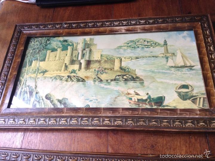Vintage: Cuadros antiguos laminas Murcia - Foto 2 - 55826317