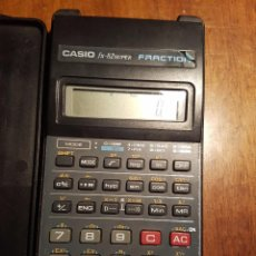Vintage: CALCULADORA CASIO FX-82SUPER FRACTION. Lote 56094645