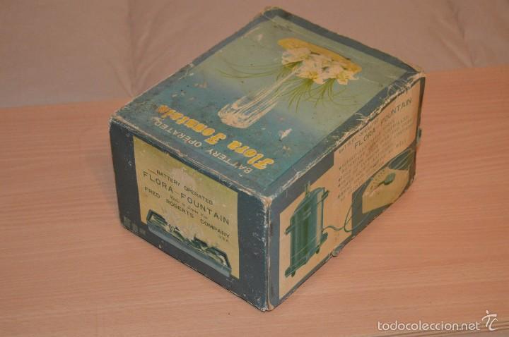 Vintage: VINTAGE - FLORA FOUNTAIN - BATTERY OPERATED - FUNCIONANDO - EN SU CAJA ORIGINAL - Foto 9 - 56106778