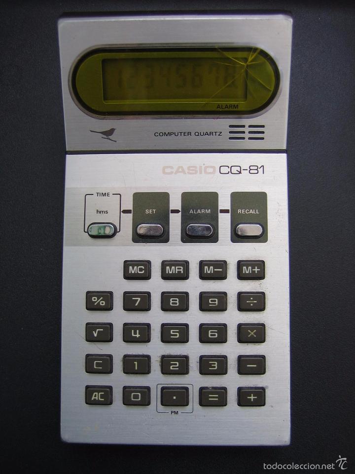CALCULADORA CASIO CQ-81. FUNCIONA (Vintage - Varios)