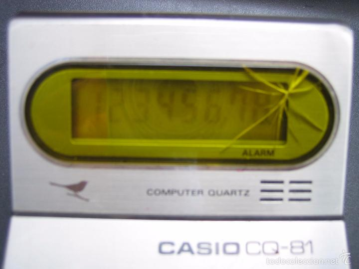 Vintage: Calculadora casio CQ-81. Funciona - Foto 3 - 56149208
