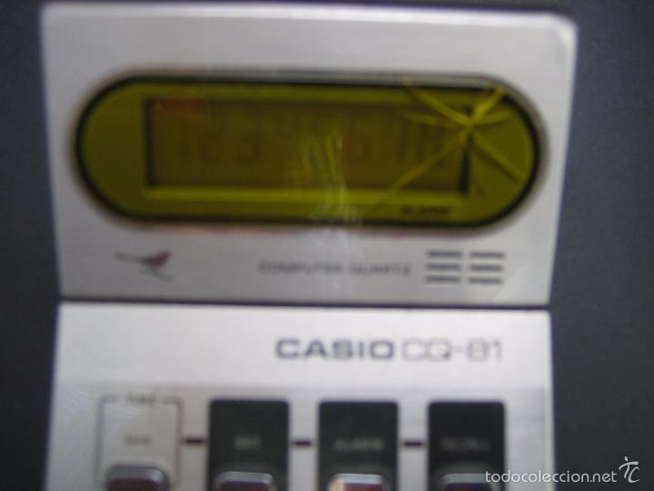 Vintage: Calculadora casio CQ-81. Funciona - Foto 4 - 56149208