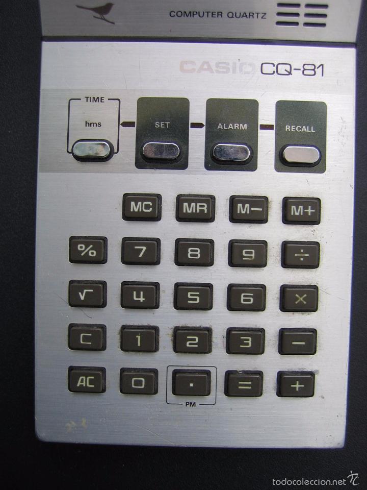 Vintage: Calculadora casio CQ-81. Funciona - Foto 5 - 56149208