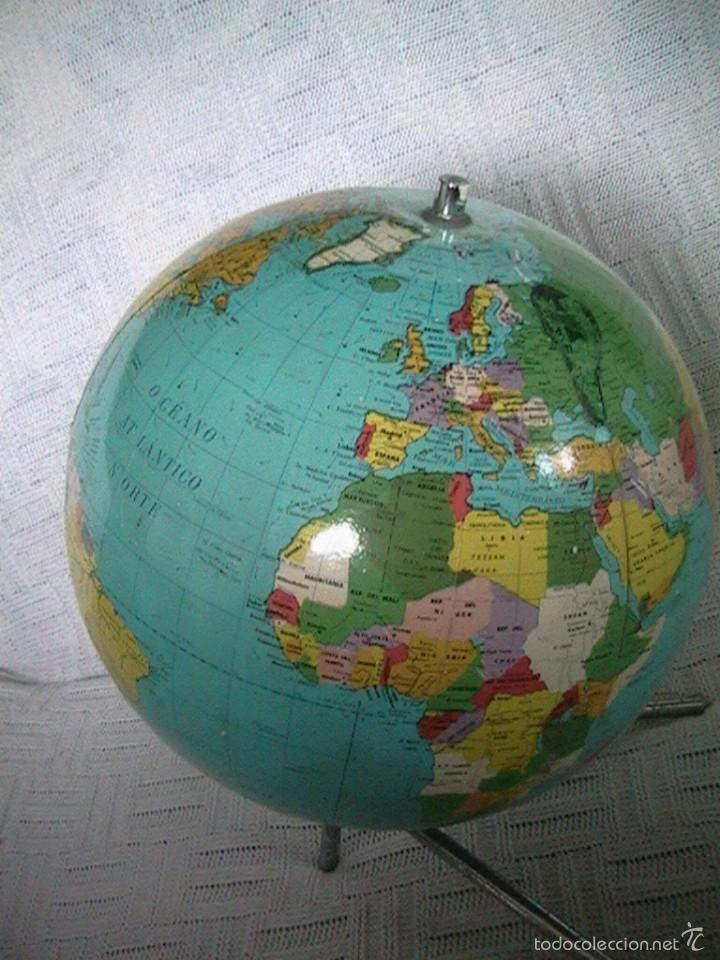 Bola del mundo globo terr queo planeta tierra m comprar - Bola del mundo decoracion ...