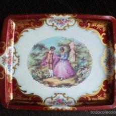 Vintage: BANDEJA DE METAL PEQUEÑA. MADE IN ENGLAND. Lote 56182890