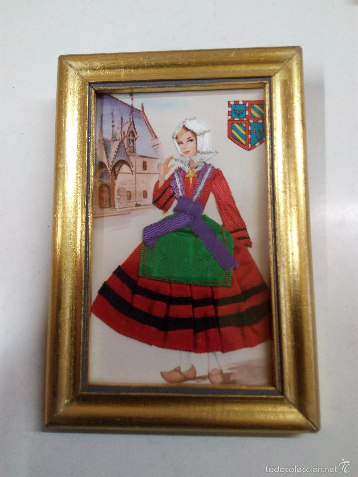 cinco cuadros de postales antiguas . trajes reg - Comprar en ...