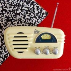 Vintage: RADIO RETRO FIFTY. FUNCIONANDO. VINTAGE DECORACIÓN. Lote 56500593