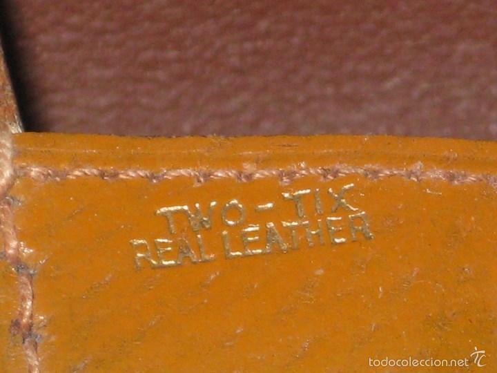 Vintage: Estuche de cepillos en piel - Foto 2 - 56665130