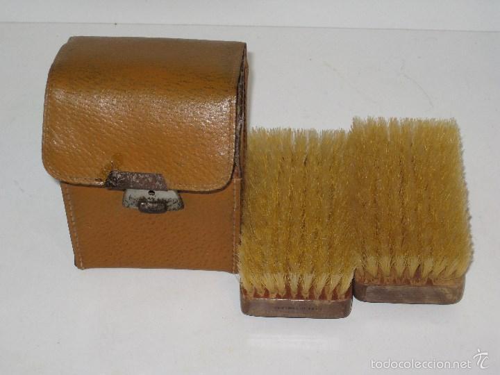 Vintage: Estuche de cepillos en piel - Foto 5 - 56665130
