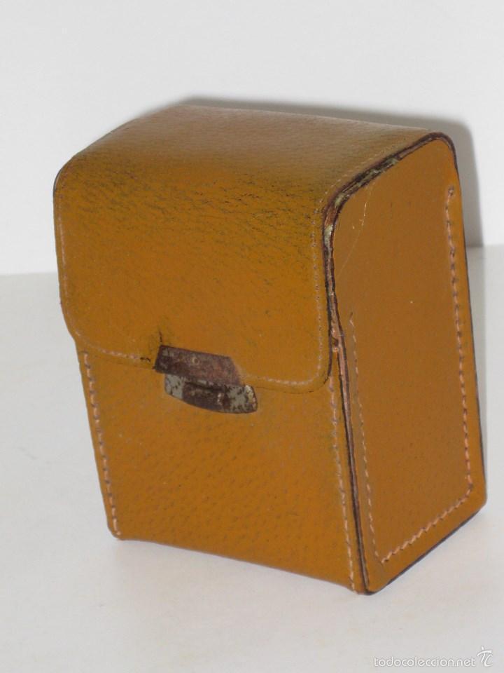 Vintage: Estuche de cepillos en piel - Foto 7 - 56665130