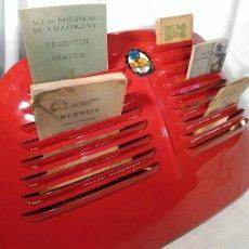 Vintage: REVISTERO DE PIE O PARA COLGAR PIEZA EXCLUSIVA CAPO DE RENAULT 4 CV CON ILUMINACIÓN DE LEDS. Lote 56696554