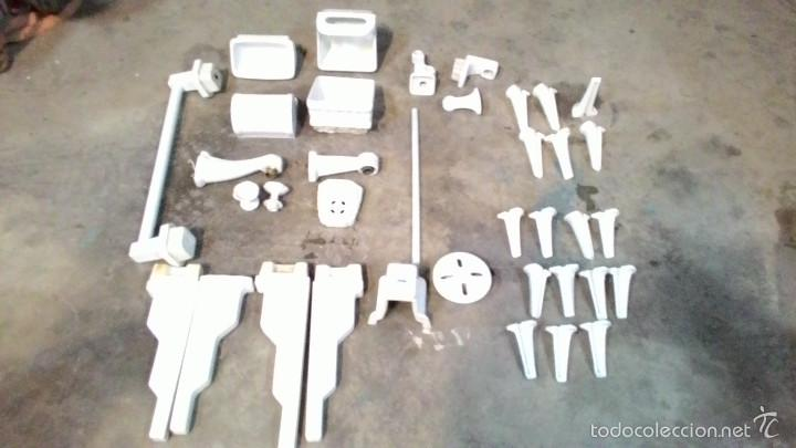Antiguo juego de accesorios para ba o en cerami comprar for Juego de accesorios para bano de ceramica
