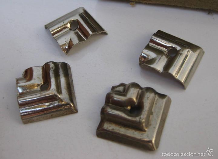 Esquinas metal antiguas de cajas madera ideal r comprar for Restauracion muebles vintage