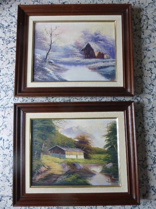 pareja de cuadros vintageclsicos dibujos de p Comprar en