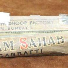 Vintage: PAREJA DE PAQUETES DE INCIENSO DE LA INDIA. SANDALO. SALAM SAHAB. AGARBATTI. CIRCA 1950. . Lote 56910450