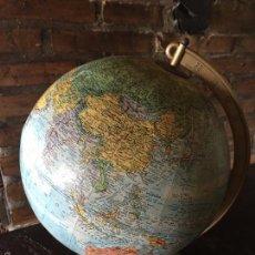 Vintage: GLOBO TERRAQUEO VINTAGE. VINTAGE WORLD GLOBE.. Lote 56925126