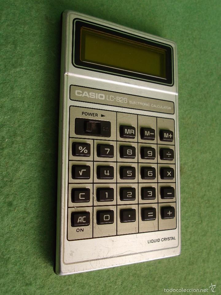 Vintage: DIFICIL CALCULADORA CASIO LC-826 LCD RETRO VINTAGE JAPON JAPAN LIQUID CRISTAL 1979 FUNCIONANDO - Foto 2 - 57149763
