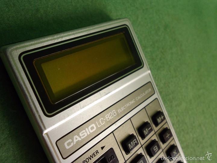 Vintage: DIFICIL CALCULADORA CASIO LC-826 LCD RETRO VINTAGE JAPON JAPAN LIQUID CRISTAL 1979 FUNCIONANDO - Foto 4 - 57149763
