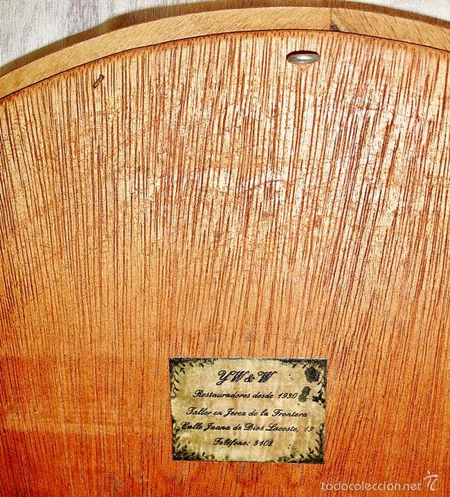 Vintage: Espejo Ovalado - Marco de Madera - Foto 6 - 57537568