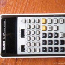 Vintage: CALCULADORA CASIO FX-102 FX102 FUNCIONANDO PERFECTA. Lote 57607336
