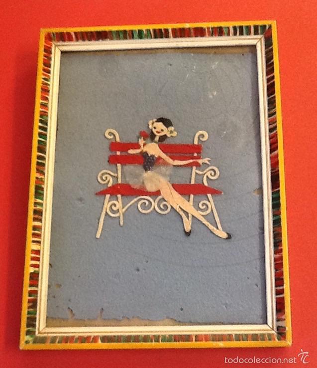 marco retro / figura recortada / años 60 / - Comprar en ...