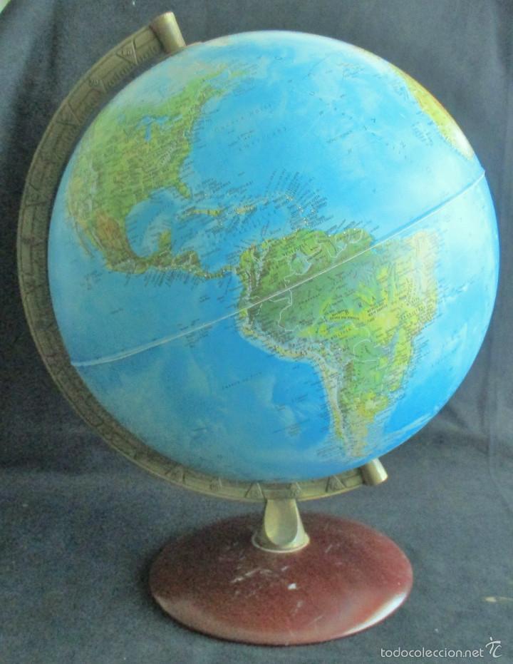 globo terraqueo bola del mundo mapa mundi made in italy vintage