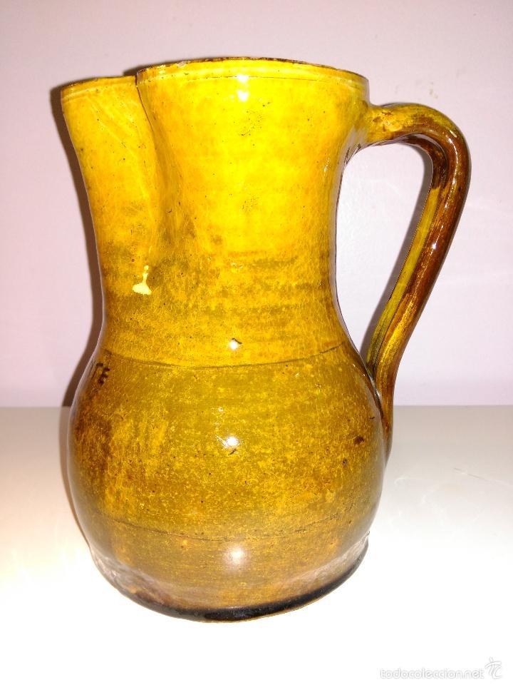 Vintage: Jarra de cerámica vitrificada. cafeteria clud 23 - Foto 3 - 57912790