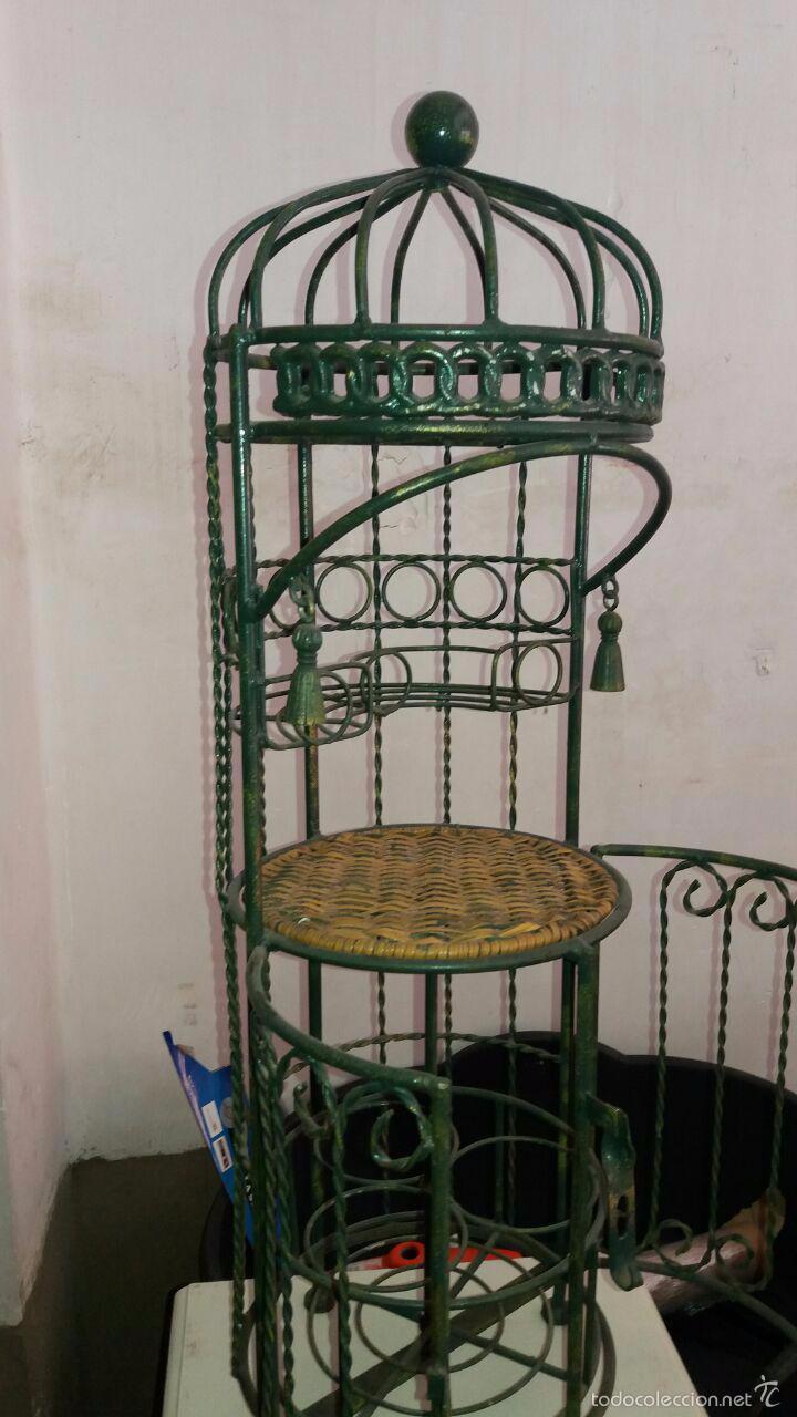 Vintage: LICORERA VINTAGE AÑOS 70 DE HIERRO - Foto 4 - 57917695