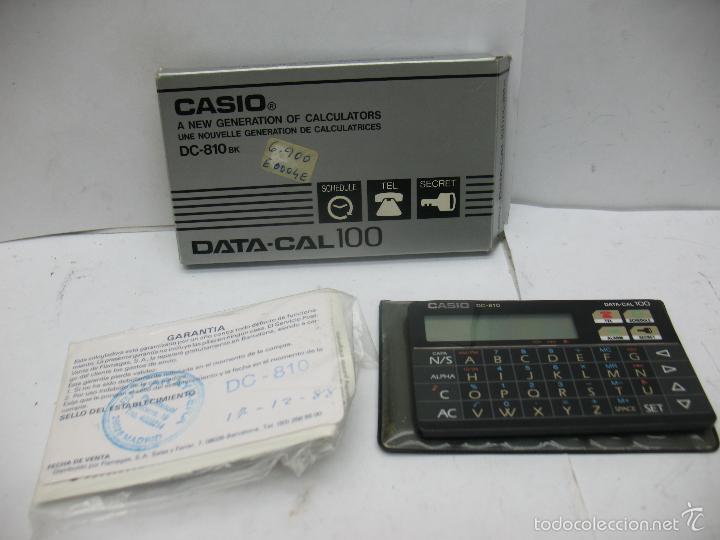 CASIO - CASIO DC-810 CALCULADORA Y AGENDA (Vintage - Varios)