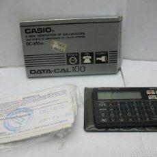 Vintage: CASIO - CASIO DC-810 CALCULADORA Y AGENDA. Lote 57990020