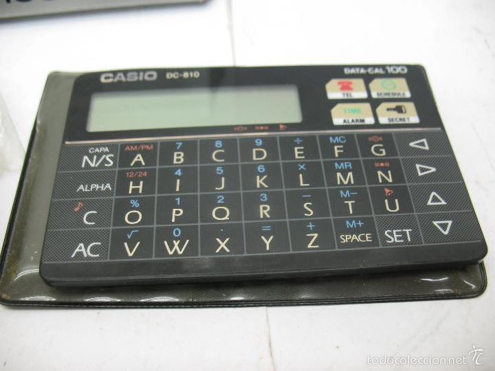 Vintage: CASIO - Casio DC-810 Calculadora y agenda - Foto 2 - 57990020