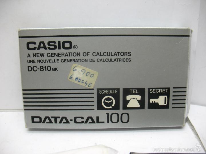 Vintage: CASIO - Casio DC-810 Calculadora y agenda - Foto 3 - 57990020