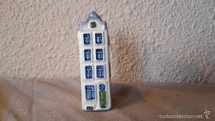 CASITA BOTELLA EN CERÁMICA DE DELFTS 106 (Vintage - Varios)