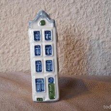 Vintage: CASITA BOTELLA EN CERÁMICA DE DELFTS 106. Lote 58201363