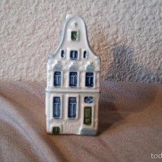 Vintage: CASITA BOTELLA EN CERÁMICA DE DELFTS 104. Lote 58201423